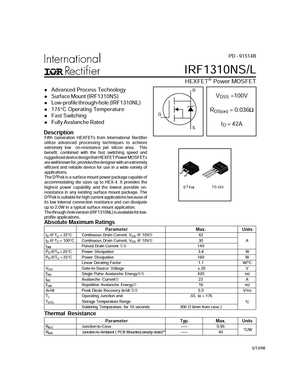 IRF1310NS