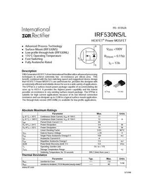 IRF530NS