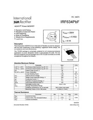 IRF634A