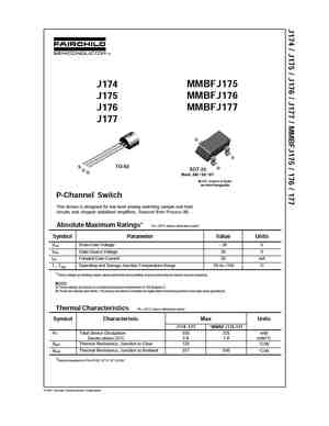 Sst174 datasheet switch.