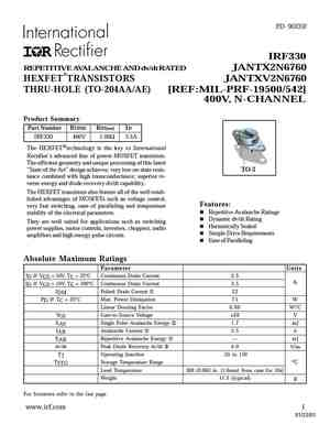 2N6762JAN