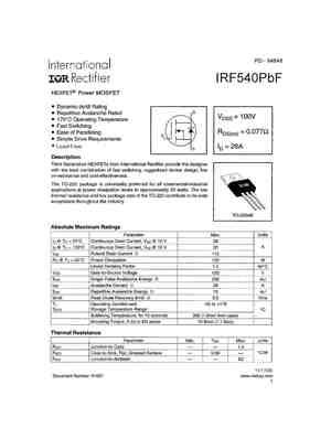 IRF540A