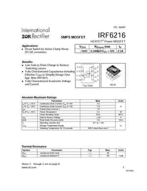 IRF6215S
