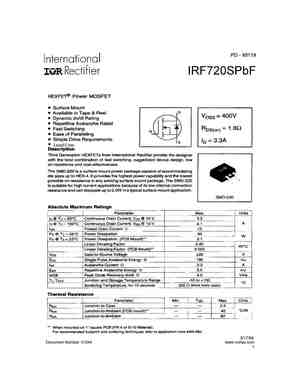 IRF720A