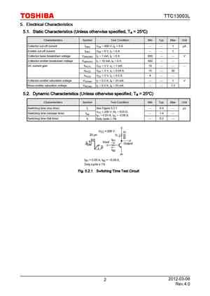 13003 Datasheet, Equivalent, Cross Reference Search ...