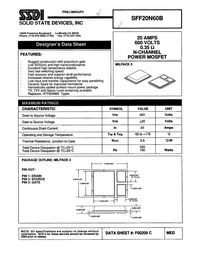 20N60 MOSFET Datasheet pdf - Equivalent. Cross Reference Search